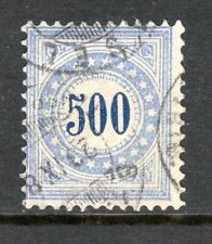 Switzerland - 1878 Postage Due -  Mi. 9 II K VFU (II)