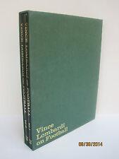 Vince Lombardi on Football, 2 Volume Hardcover Boxed Set