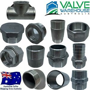 STAINLESS STEEL THREADED & BARBED FITTINGS - BSP - FLAT RATE SHIPPING