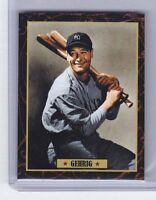 Lou Gehrig '35 New York Yankees Ultimate Baseball Card Collection #26