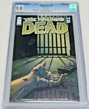 Walking Dead #14 Image Comics 11/04 CGC Graded 9.8 NM/MT White Pages