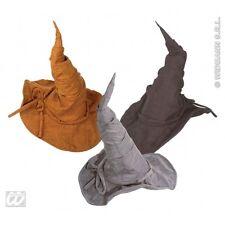 Sorcière Magicien Chapeau suedelook 1 de 3 couleurs Accessoire pour Halloween OZ Eastwick FA