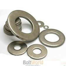 A4 STAINLESS STEEL MARINE GRADE FORM A B C G WASHERS FLAT WASHER M2 TO M24 BW