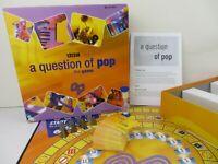 A Question Of Pop Vintage Retro BBC Board Music Quiz Game. Excellent Condition.