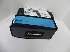 "Nib ""Blucave"" 4.6V Screwdriver/Flashlight Bits,Carrying Case Set, 60 Sec Charge"