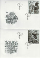 Czech Republic 2014 FDC First World War Victims 2v on 2 Covers WWI Stamps