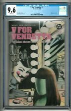 V for Vendetta #1 (1988) CGC 9.6  White Pages  Alan Moore - David Lloyd