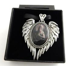 Anne Stokes Enchanted Cameos necklace Angel Rose artwork Officially licensed