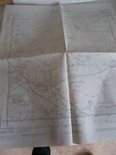 A War Office Ordnance Survey Map Of Part Of Wiltshire Sheet ST94-- 1st Ed. 1950