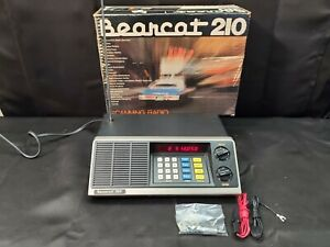 VTG Electra Bearcat 210 BC-210 10 Channel Programmable Scanner -WORKS, In Box