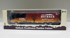 """Outback Steakhouse Madden Cruiser diecast Mci E 8-1/2"""" Bus - 1:64 Scale S Gauge"""