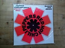 Red Hot Chili Peppers Knock Me Down NM SHAPED PICTURE DISC Vinyl Record MT PD 70