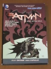BATMAN NIGHT OF THE OWLS HC NM 1ST PRINT CATWOMAN BATGIRL SNYDER COURT OF OWLS