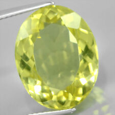 Very Good Cut Oval Loose Citrines