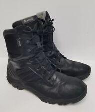 Bates Men's Black Waterproof Leather / Nylon Boots E02268, Size 10.5