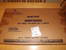 MAJOR PAYNE-DAMON WAYANS-COMEDY-VINTAGE MOVIE STANDEE IN ORIGINAL BOX