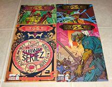 Key of Z 1 2 3 4 Full Set 1st Prints Claudio Sanchez Amory Wars RARE Zombies