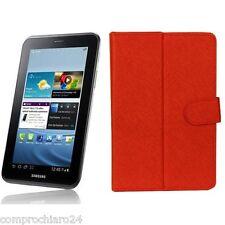 "Custodia Rossa Pieghevole Ecopelle Tab - Tablet 7"" (pollici) DANYSTAR LX-1017"