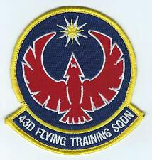 43rd FLYING TRAINING SQUADRON  patch