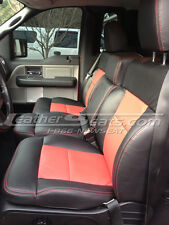 2004-2008 Ford F-150 F150 Regular Cab Leather Seat Covers Custom Interior NEW