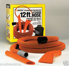 "Mr. Nozzle 12 Ft. Vac Tool Kit Vacuum Hose Crevice Claw 1-1/2"" Wet/Dry M100DB"