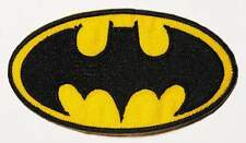 BATMAN LOGO IRON ON PATCH  BUY 2 WE SEND THREE
