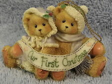 Our First Christmas Together Ornament #141259 Cherished Teddies MIB