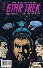 Star Trek Romulans Schism #1 comic book TV show series John Byrne Klingons