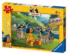 Ravensburger 09008-Yakari y sus amigos 2 x 20 piezas Puzzle