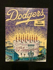 1971 LOS ANGELES DODGERS Souvenir Yearbook Major League Baseball MLB. Buckner