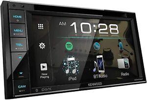 "Kenwood DMX120BT 2-DIN DIGITAL BLUETOOTH MULTIMEDIA 6.2"" RECEIVER CAR STEREO NEW"