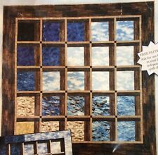 "Mendocino Earth's Window quilt kit, 60"" square"