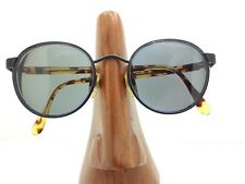 8f14c46e72 Vintage Giorgio Armani 643-V 706 Round Black Eyeglasses Sunglasses Frames