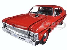 1970 CHEVROLET NOVA YENKO DEUCE CRANBERRY RED LTD ED TO 660PCS 1/18 BY GMP 18830