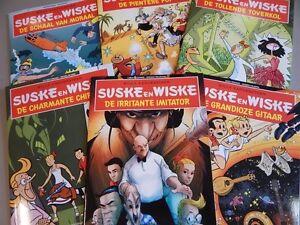 Suske en Wiske. SOS Kinderdorpen. 6 delen. 2016