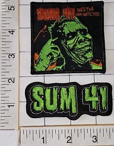 SUM 41 MUSIC ROCK BAND DOES THIS LOOK INFECTED PATCH LOT
