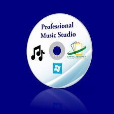 2017 Pro. Music Studio mp3 DJ mix music sheet audio editing recording CD rip