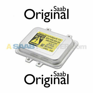 SAAB 9-3 Xenon Ballast Control Unit Module Computer 08-11 GENUINE OEM 12767670