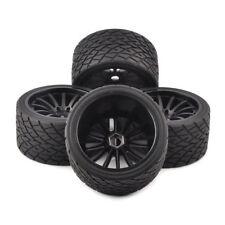 4Pcs 139mm Bigfoot Tires Wheels Rim 17mm Hex For 1/8 RC On-Road Racing Car 26412