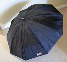 "Calumet 36"" Silver White Umbrella Photography Flash Reflector with Bag"