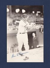 Ben Chapman signed Chicago White Sox baseball postcard 1908-1993