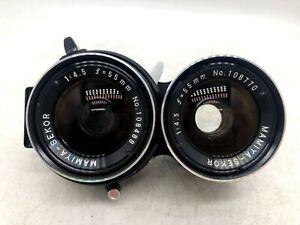【 MINT 】Mamiya Sekor 55mm F/4.5 TLR Lens for C330 C220 C33 C22 C3 from Japan