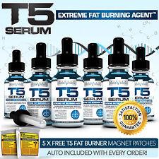 X6 BIOGEN T5 FAT BURNERS SERUM XT- STRONGEST LEGAL SLIMMING PILLS ALTERNATIVE