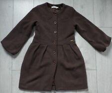 Christian Dior 10A Girls Brown Wool Dress Coat
