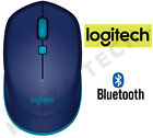 Logitech M535 BLUETOOTH BLUE Wireless Optical Mouse Compact for PC Laptop MAC