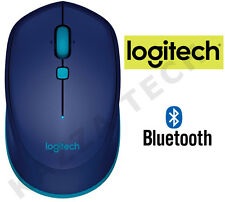 Logitech M535 Bluetooth Mouse Ottico Wireless Blu Compatta per PC Laptop MAC