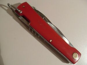 GERLACH 81 MADE IN POLAND VINTAGE PRE-OWNED RARE MULTI TOOL BIG POCKET KNIFE