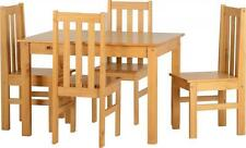 Ludlow Contrasting Oak Dining Set With 4 Chairs