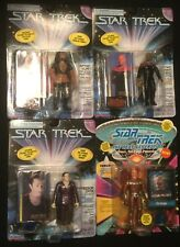 CAPTAIN SISKO Data KURN Vorgon figure lot STAR TREK Playmates Next Generation