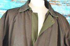 Driza-Bone Coat Jacket Grosvenor Size 7 XL Cotton Full Zip Leather Trim Warm XL
